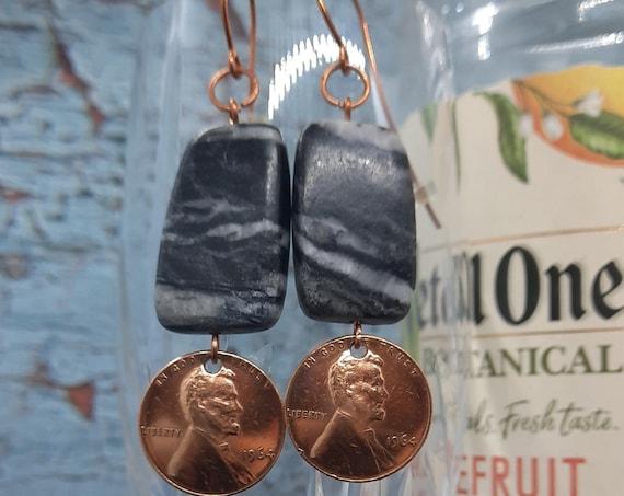 1964 US Penny Earrings - Birthday Surprise!