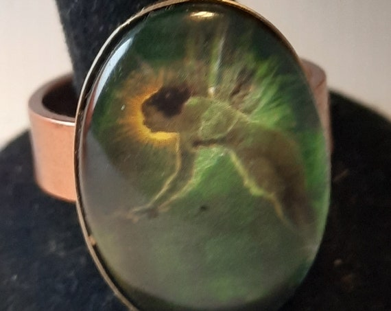 Magical Copper Fairy Ring Size 10