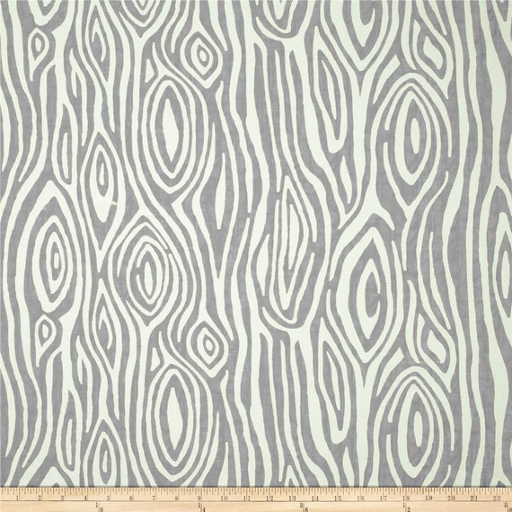 Items Similar To Grey Wood Grain Fabric By The Bolt Premier Prints