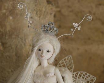 BJD, poupée en porcelaine Flumo, La Reine des Rennes