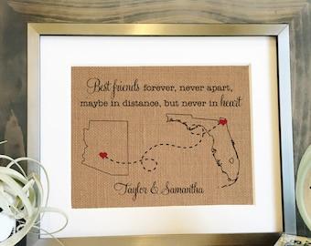 Best Friends Long Distance Gift