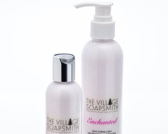 Hand and Body Lotion with goat milk and aloe vera in your choice of fragrance, skin care, body cream, moisturizing lotion, gift for her