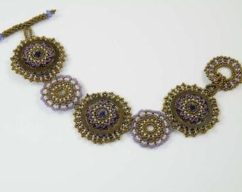 Beading Tutorial - All Geared Up Bracelet