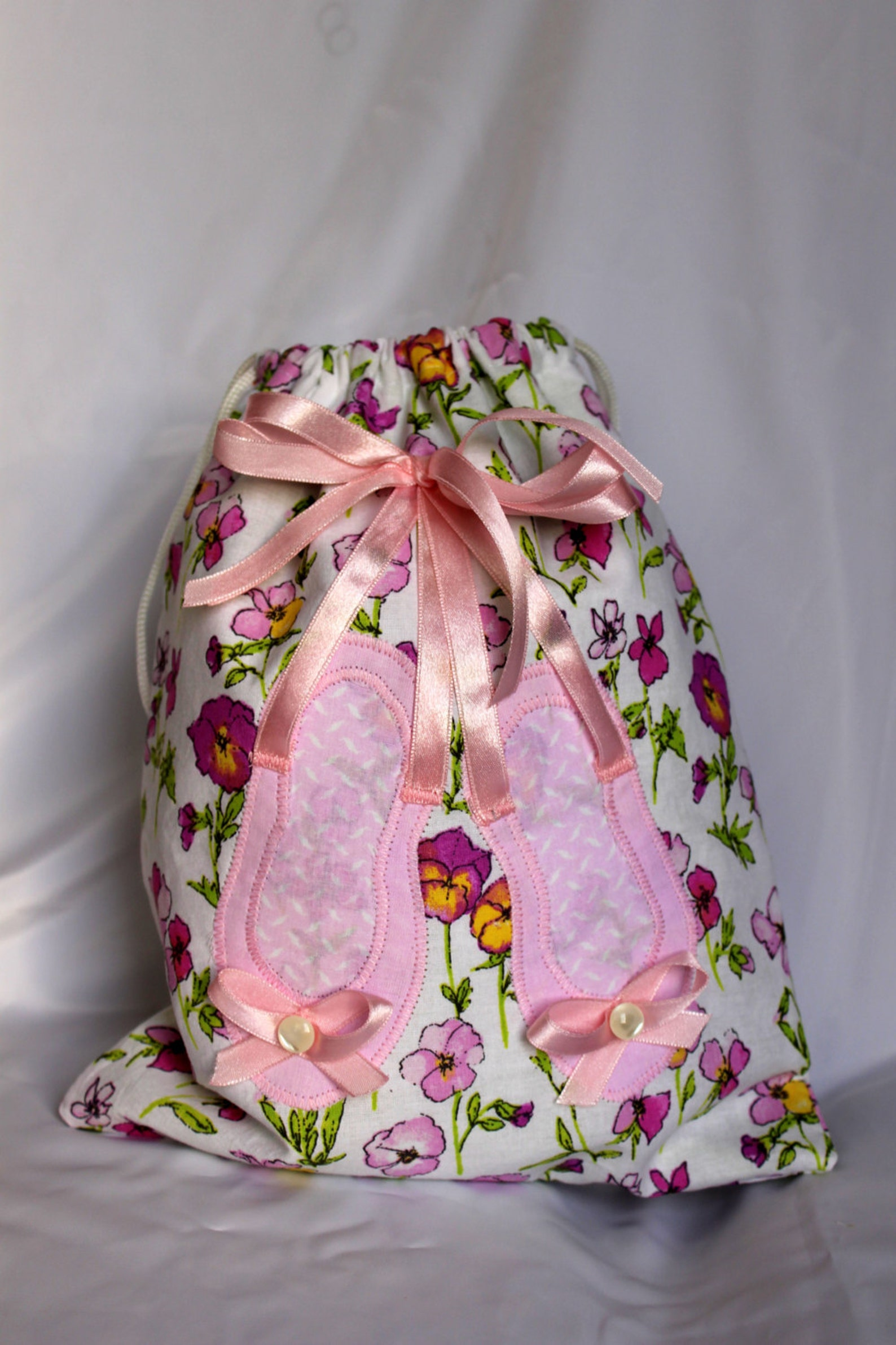 ballet shoe bag, bance bag, pink girl backpack