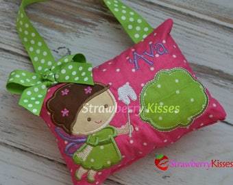 Tooth Fairy Pillow - Tooth Fairy Pillow for Girls