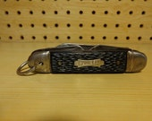 Vintage Camper Pocket Knife quot The Ideal quot U.S.A. Four Function Folding Pocket Jack Knife