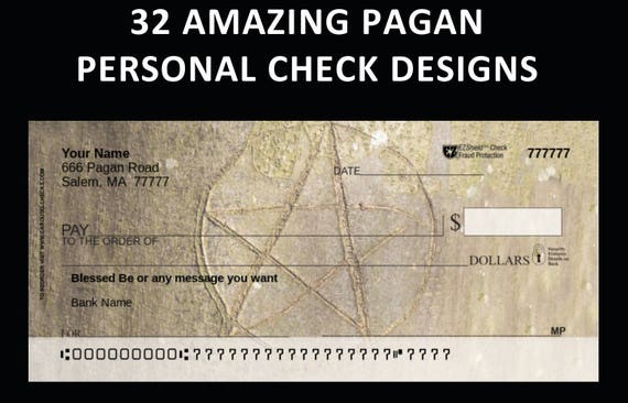 32 designs for pagan personal checks faerie satanic etsy image 0 freerunsca Choice Image