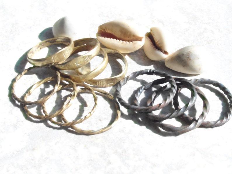 Oruka Ide African Iron Ring Pair for Ifa Ewe Oogun Spiritual Supplies Orisa  Ifa