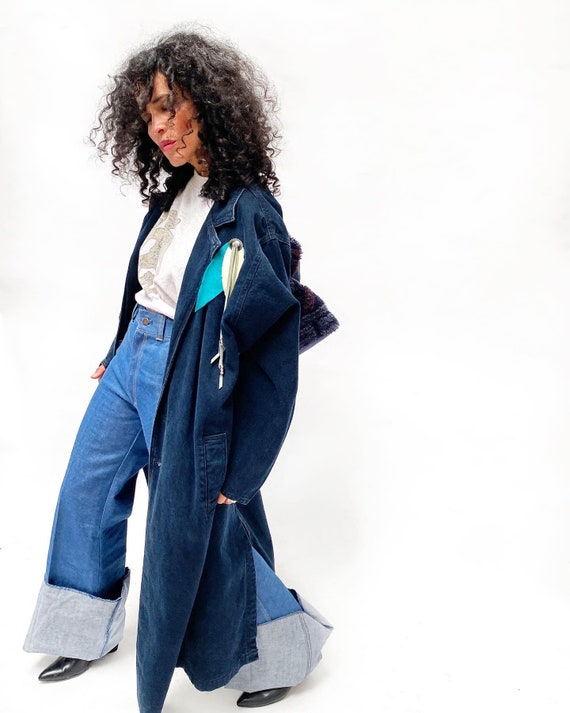 1970s Bell Bottom Dungarees