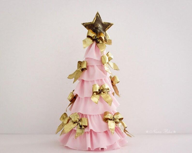 Gold Christmas Tree Tulle Christmas Tree Christmas Decorations Etsy