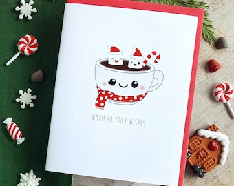 Holiday Collection: Hot Cocoa Note Card - A2