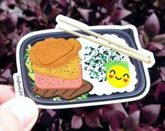 """Zip Pac Sticker Cute Kawaii 3.25"""" x 2.25"""""""