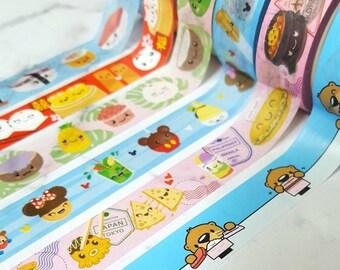 Tiny Hearts Washi Tape / 15mm x 10m Roll