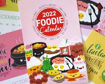 2022 Foodie Desk Calendar Inserts (INSERT ONLY)