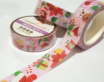 Christmas Washi Tape / 15mm x 10m Roll