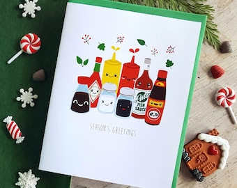 Holiday Collection: Season's Greetings Note Card - A2