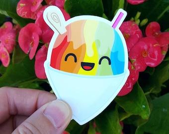 """Shave Ice Sticker Cute Kawaii 2.5"""" x 3"""""""