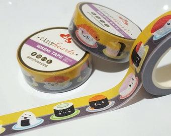 Sushi Belt Washi Tape / 15mm x 10m Roll