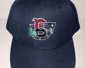 Gray Boston Sports Fan 4 Team Baseball Hat Cap Red Sox Patriots Celtics Bruins