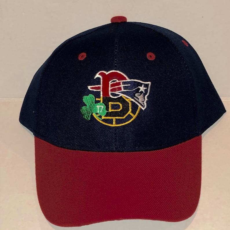 Baseball Cap New England Patriots Bruins Celtics Boston Red Sox