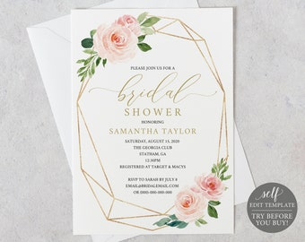 83905ae9eb8 Bridal shower invitation