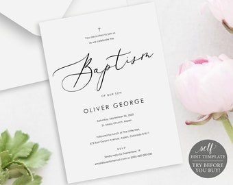 Wedding Invitation Template Try Before You Buy Instant Etsy