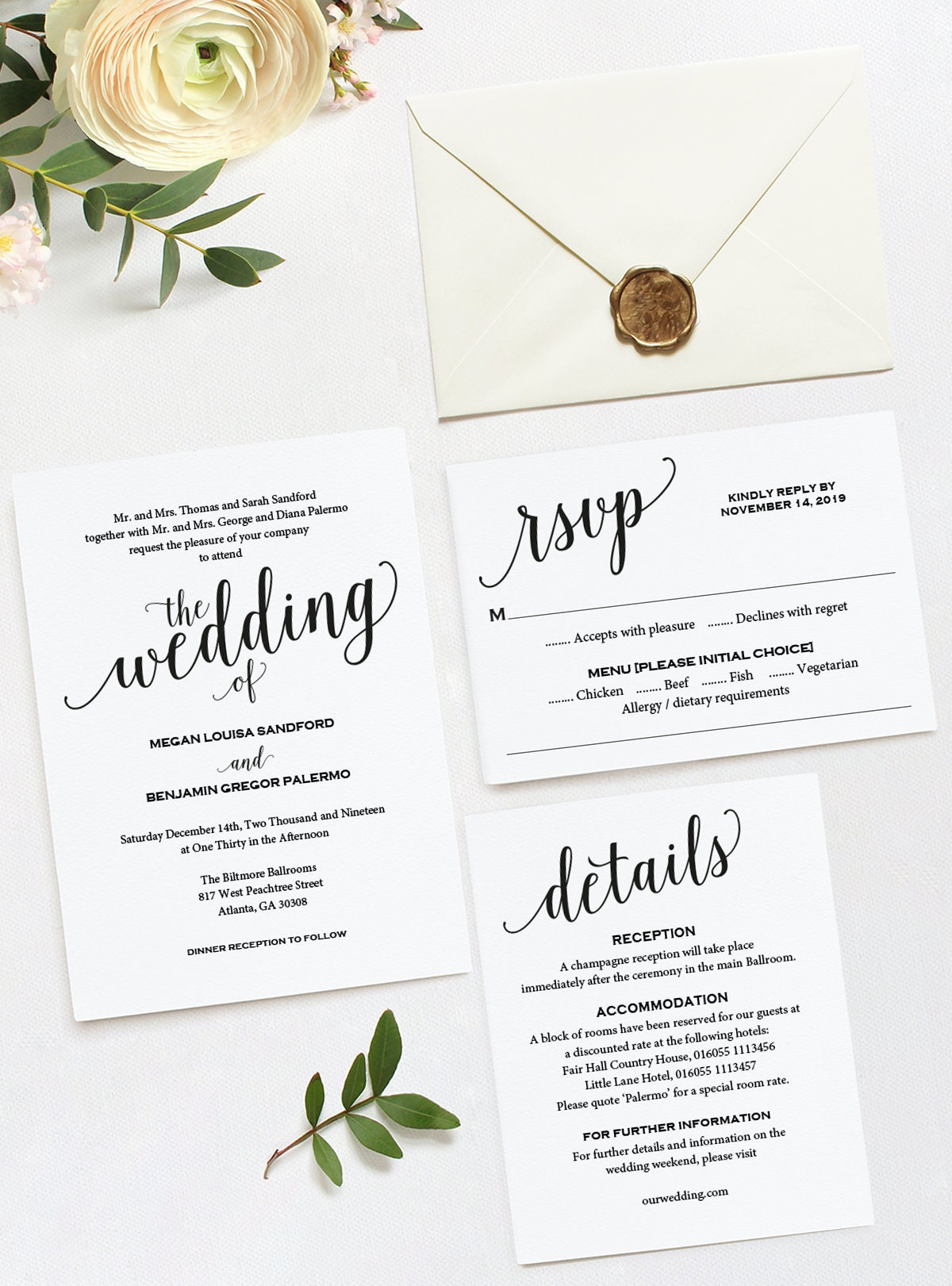 wedding invitation wedding invitation template wedding invite