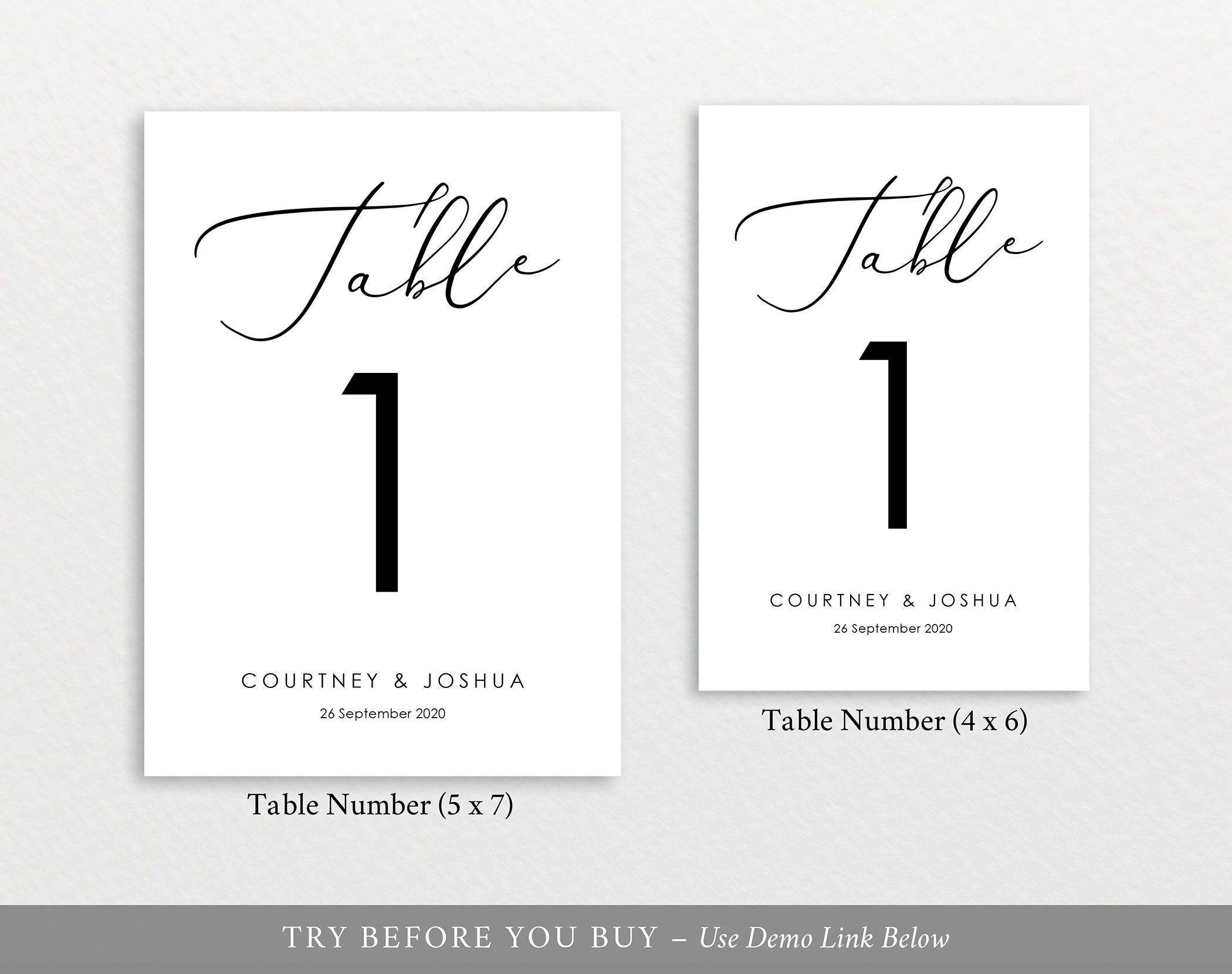 table numbers template 100 editable template elegant. Black Bedroom Furniture Sets. Home Design Ideas