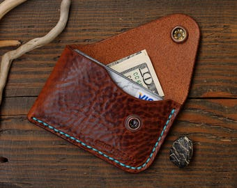 Leather Card Wallet, Card Holder, lifetime warranty