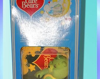 Vintage Care Bear MIB (mint in box) Poseable - Bedtime Bear