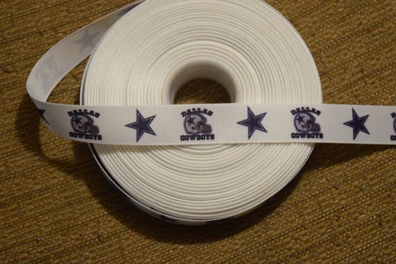 "Chicago Bears 1.5/"" wide grosgrain ribbon the listing is for 5 yards"