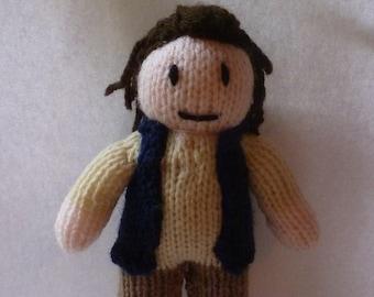 Eugene Porter (The Walking Dead) knitted doll
