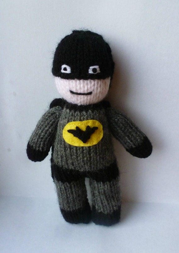 Batman Amigurumi Doll by Sushumo on DeviantArt | 806x570