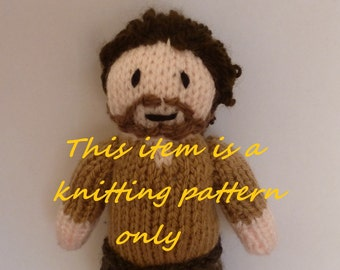 PDF knitting pattern: Rick Grimes (The Walking Dead)