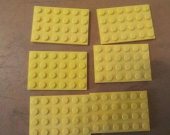 LEGO 3032 base plate 4x6 board x16 dark bluish grey