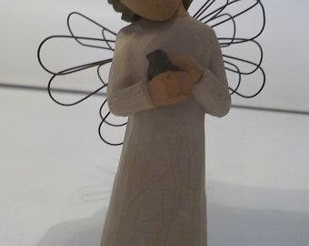 """NEW DEMDACO WILLOW TREE /""""ANGEL OF WISHES/"""""""