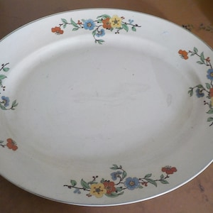 On Sale Vintage China The Aristocrat by Leigh Potters Devon Point  6 inch SaladDessert Plate