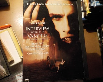 Interview With The Vampire Tom Cruise DVD Movie Rated R Free USA Shipping