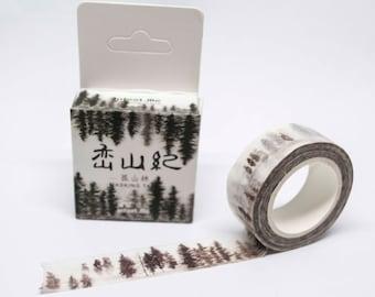 0,42 Euro/m Masking tape 15mm x 7m trees