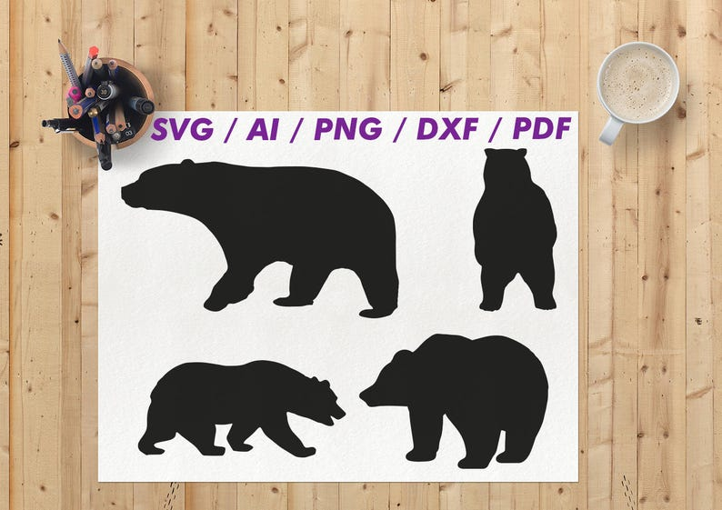 bear svg bear svg file bear svg cut file bear cricut etsy rh etsy com