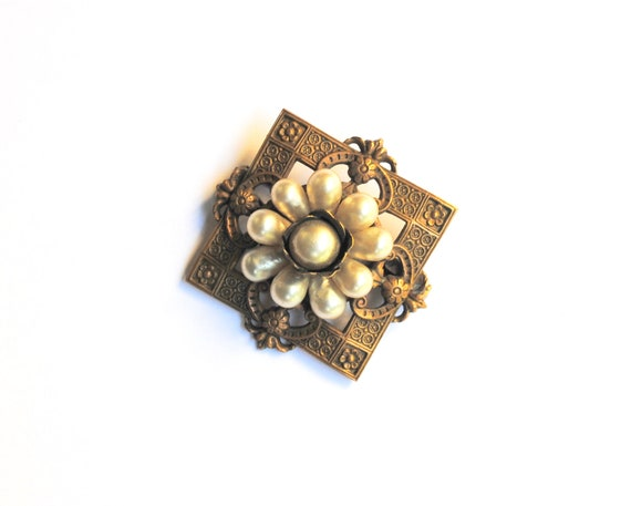 Louis Rousselet Antique French Brooch - image 3