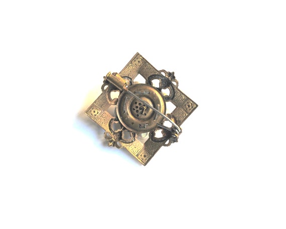 Louis Rousselet Antique French Brooch - image 4