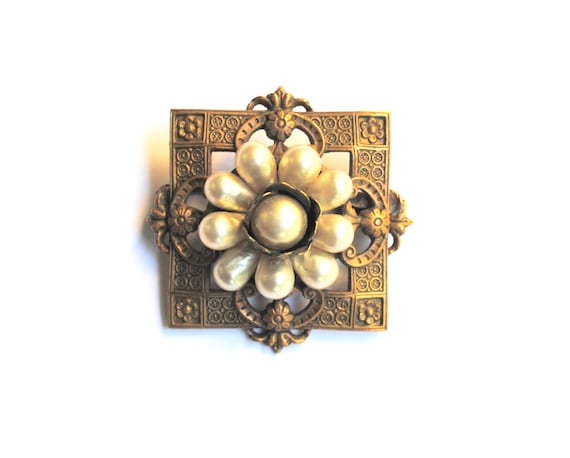 Louis Rousselet Antique French Brooch - image 2