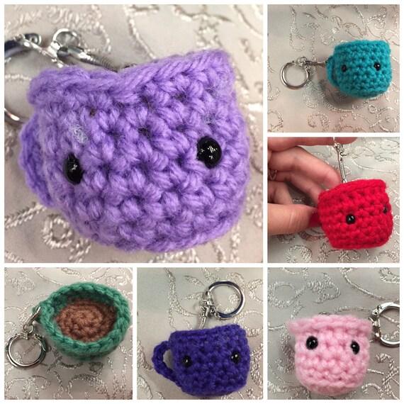 Amazon.com: Rocco the Raccoon Amigurumi/Crochet Doll Gift Idea ... | 570x570