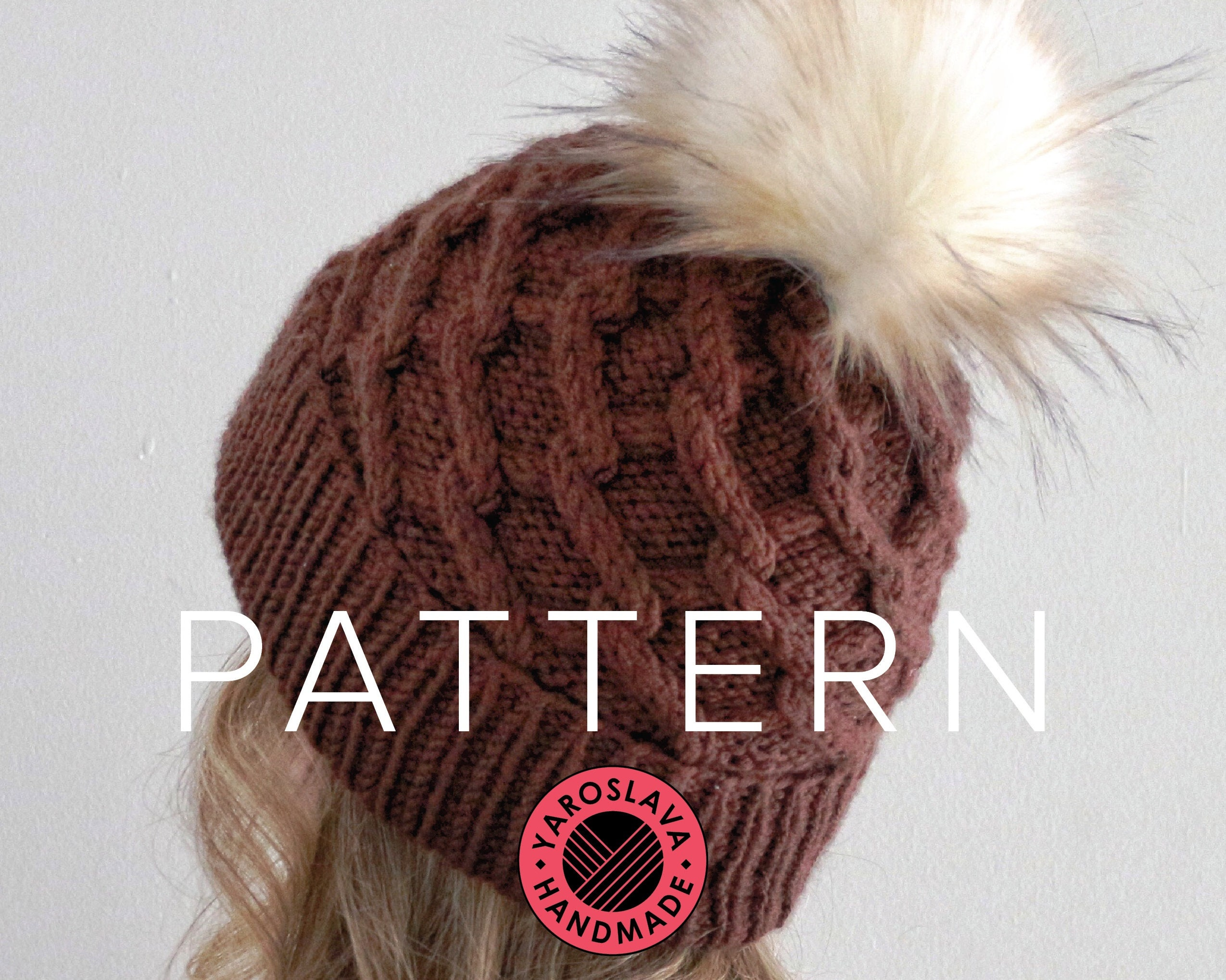 e4253d0ce8d PATTERN LISTING Maya Hat Slouchy Beanie   Toque   Twist