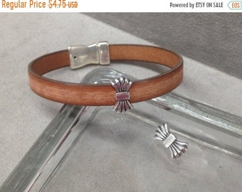 Antique Copper Qty 2 Z5308 On Sale Now Greek Skull Sliders For 10mm Flat Leather Cord
