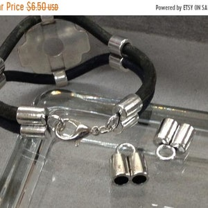 On Sale Now Zamak Dragon Talon  Bolo Tie Cord Ends For Use With Leather Cord Up To 5mm Qty 1 Set Ant Silver C1939