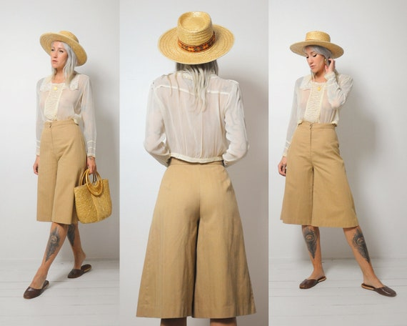70's Honey Gaucho Pants