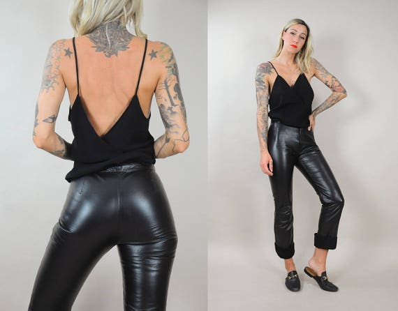 Soft Leather Soft Black Black Pants rqBZF7xrpw