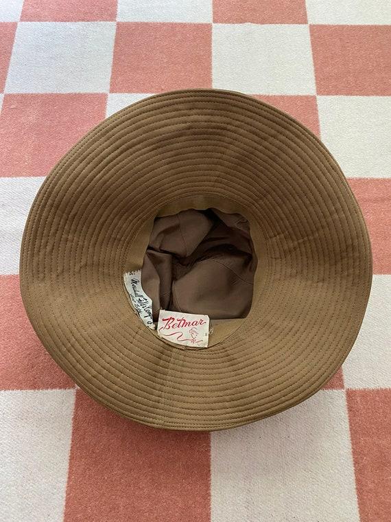 70's Wide Brim Suede Hat - image 3